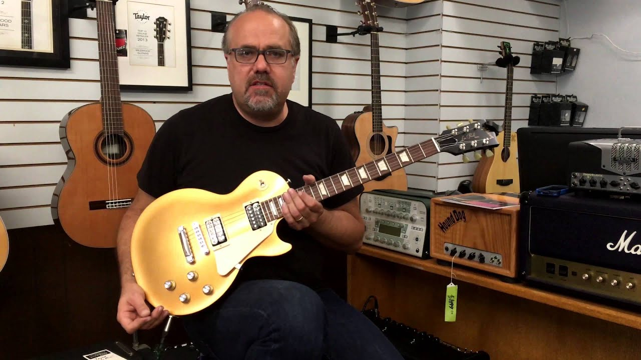 the gibson 2016 les paul 50s tribute in st with loop