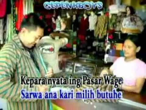 tayub tulungagung-PASAR WAGE