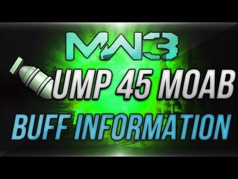 MW3: UMP45 MOAB - UMP45 Buff/Patch...