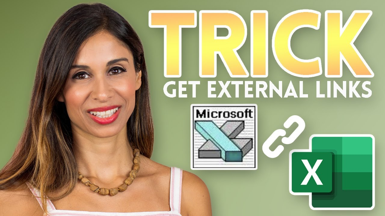 Get ALL External Links with This SIMPLE Excel TRICK (as NEVER seen before!)