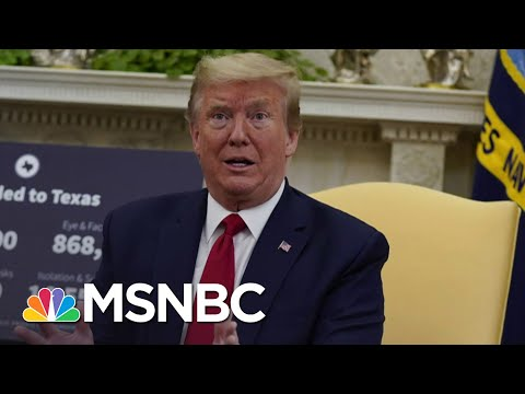 Unease At Trump White House After Its Second Confirmed COVID-19 Case | The 11th Hour | MSNBC
