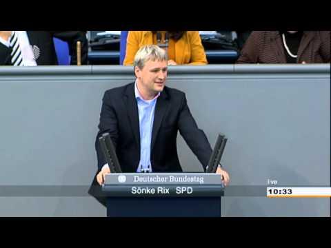 202. Sitzung, TOP 43 (12/12): Sönke Rix (SPD) - YouTube