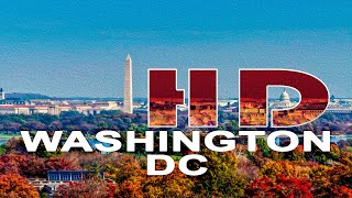WASHINGTON DC / ARLINGTON VA , USA - A WALKING TRAVEL TOUR - HD 1080P