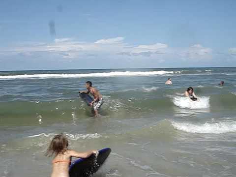 Boogie Boarding Daytona Beach Florida