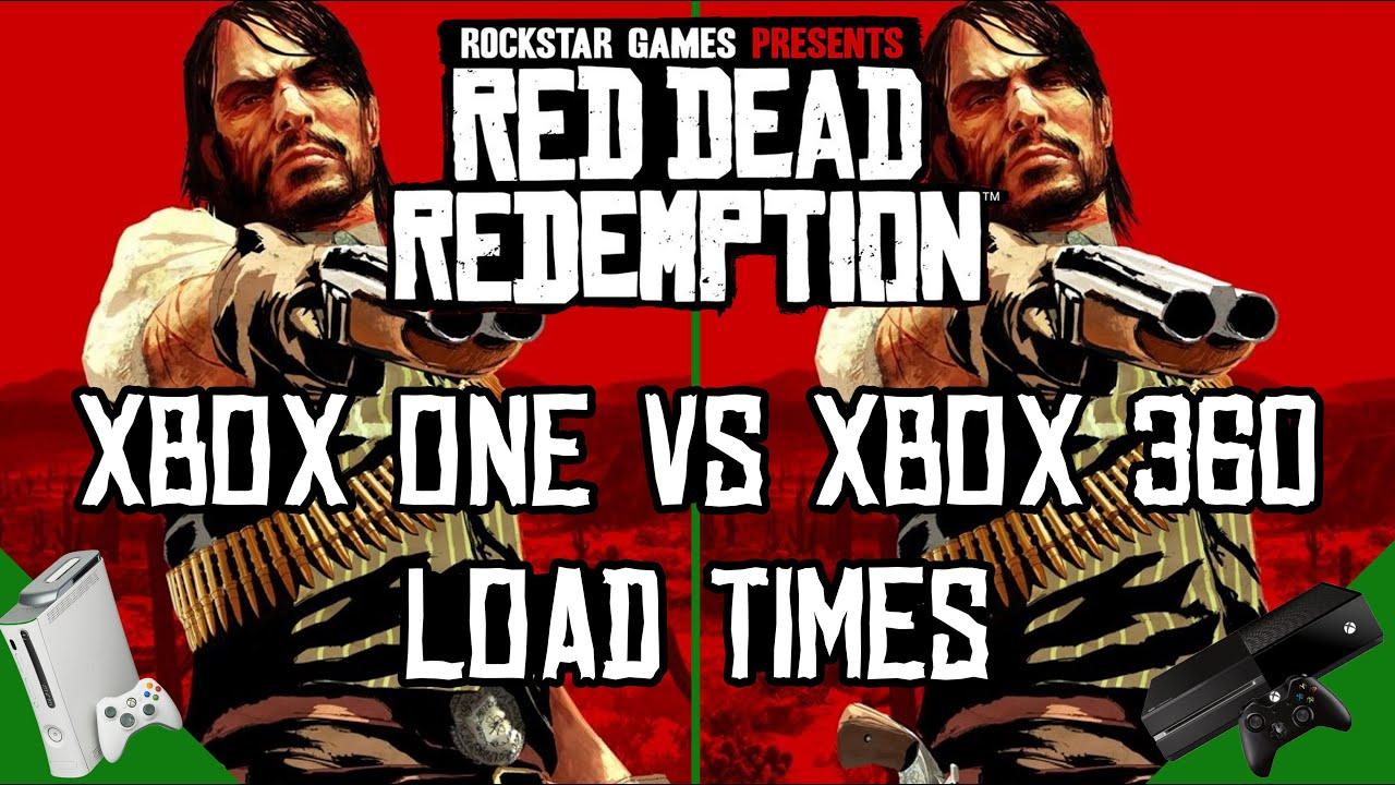 Red Dead Redemption Load Time Comparison: Xbox One vs Xbox ...