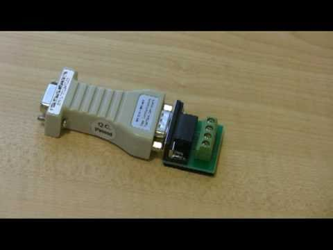 RS232 To RS485 Converter Adapter In HD - YouTube