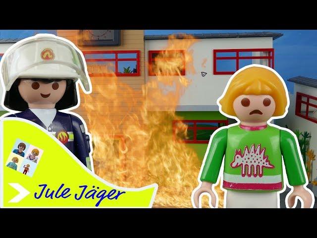 Playmobil Film deutsch - Feuer! Die Schule brennt - Kinderfilm mit Jule Jäger