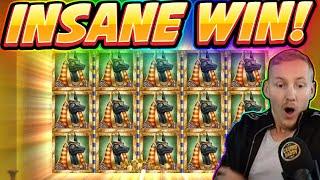 INSANE WIN! Book of Dead BIG WIN - Casino Games from Casinodaddy live stream