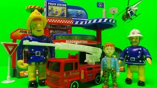 vancouver emergency fire station city set unboxing inc fire engine helicopter police