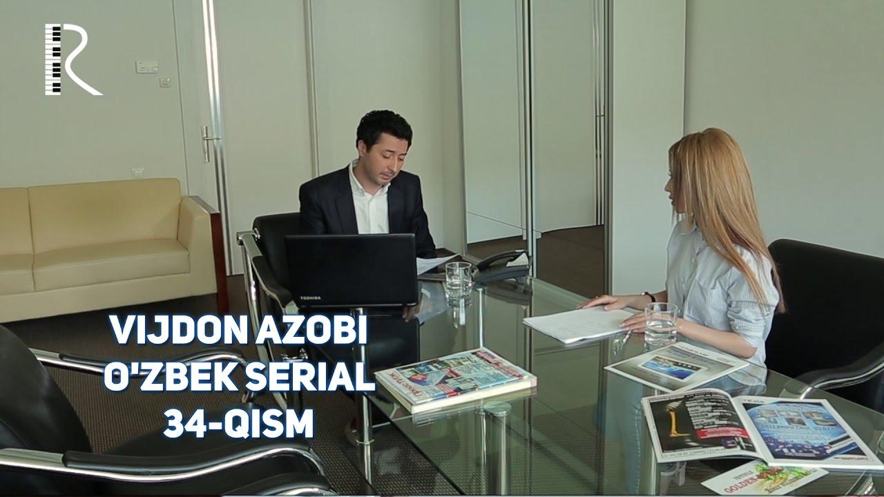 Vijdon azobi (o'zbek serial) | Виждон азоби (узбек сериал) 34-qism #UydaQoling