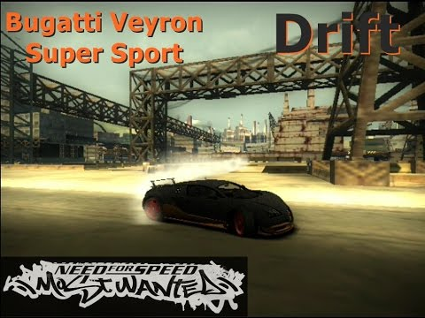 need for speed most wanted 2005 let 39 s play nfsmw 2005 bugatti veyron supersports drift youtube. Black Bedroom Furniture Sets. Home Design Ideas