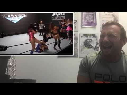 Really bad 8 woman tag match - Pro Wrestler Reviews Pro Wrestling