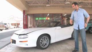 1999 Chevrolet Camaro Z-28 Convertible for sale with test drive, and walk through video