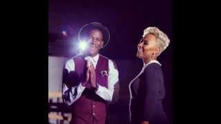 Labrinth ft. Emeli Sande - Beneath Your Beautiful (Instrumental cover) + (Lyrics)