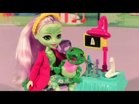 Обзор новой куклы крокодила Энди Аллигатор энчантималс. Купить куклу крокодила Andie Alligator