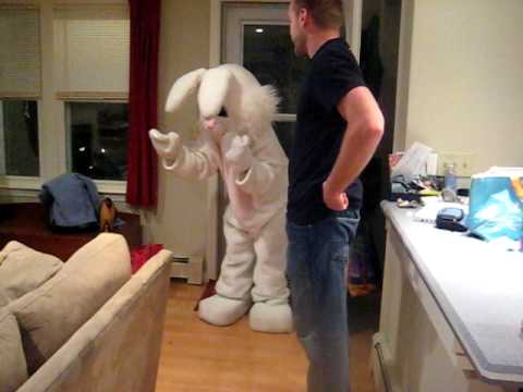 Easter Bunny comes to Jack's house