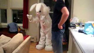 Easter Bunny comes to Jack s house