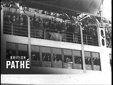 Germans In England Vote At Sea (1938)