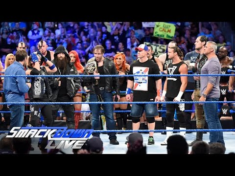 Thumbnail: Shane McMahon and Daniel Bryan announce huge title opportunity: SmackDown Live, July 26, 2016