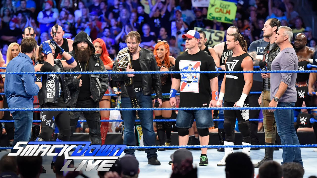 Download Shane McMahon and Daniel Bryan announce huge title opportunity: SmackDown Live, July 26, 2016