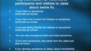 Swine Flu Announcement (English)