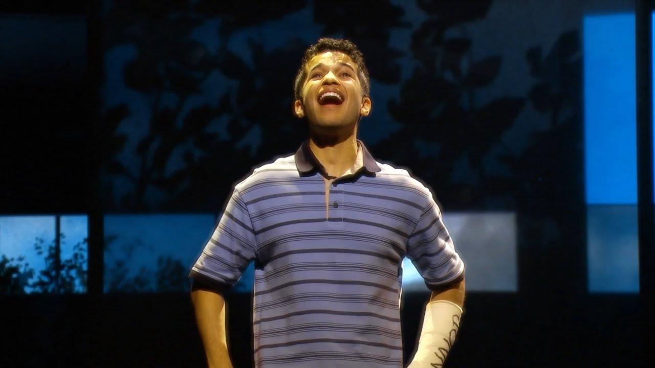 Watch Jordan Fisher Sing Out in New DEAR EVAN HANSEN Show Clips thumbnail