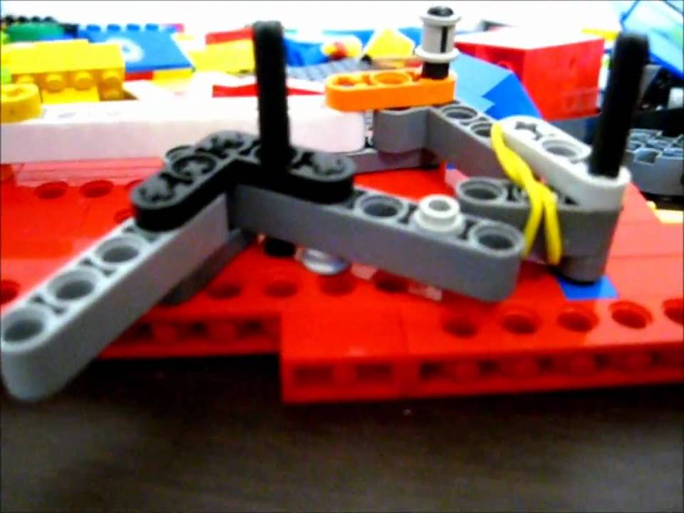 how to make a lego gun that reloads itself - YouTube