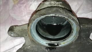 Mazda 6 - замена пыльника поршня переднего тормозного суппорта