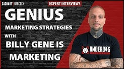 Genius Marketing Strategies For Small Business With Billy Gene Is Marketing