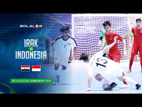 Gilas Irak, Indonesia di Puncak Grup D! Irak (1) - (2) Indonesia - AFC U20 Futsal Championship 2019