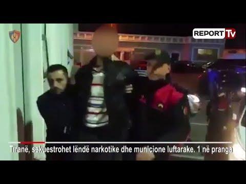 Report TV - Tiranë, arrestohet 30 vjeçari, shiste lëndë psikotrope Ekstazi
