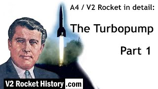 A4 / V2 Rocket in detail: Turbopump