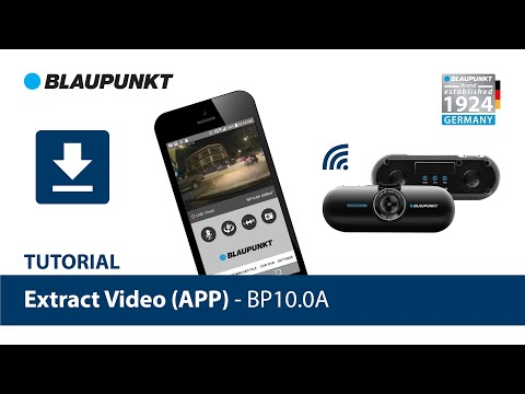How To Extract Video From APP BP10.0A - Blaupunkt DVR