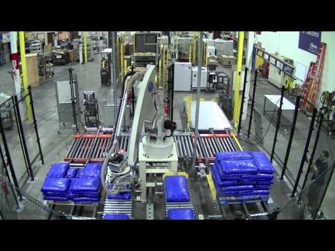 Robotic Bag Palletizing