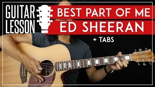 Best Part Of Me People Guitar Tutorial Ed Sheeran Yebba Guitar Lesson Fingerpicking No Capo