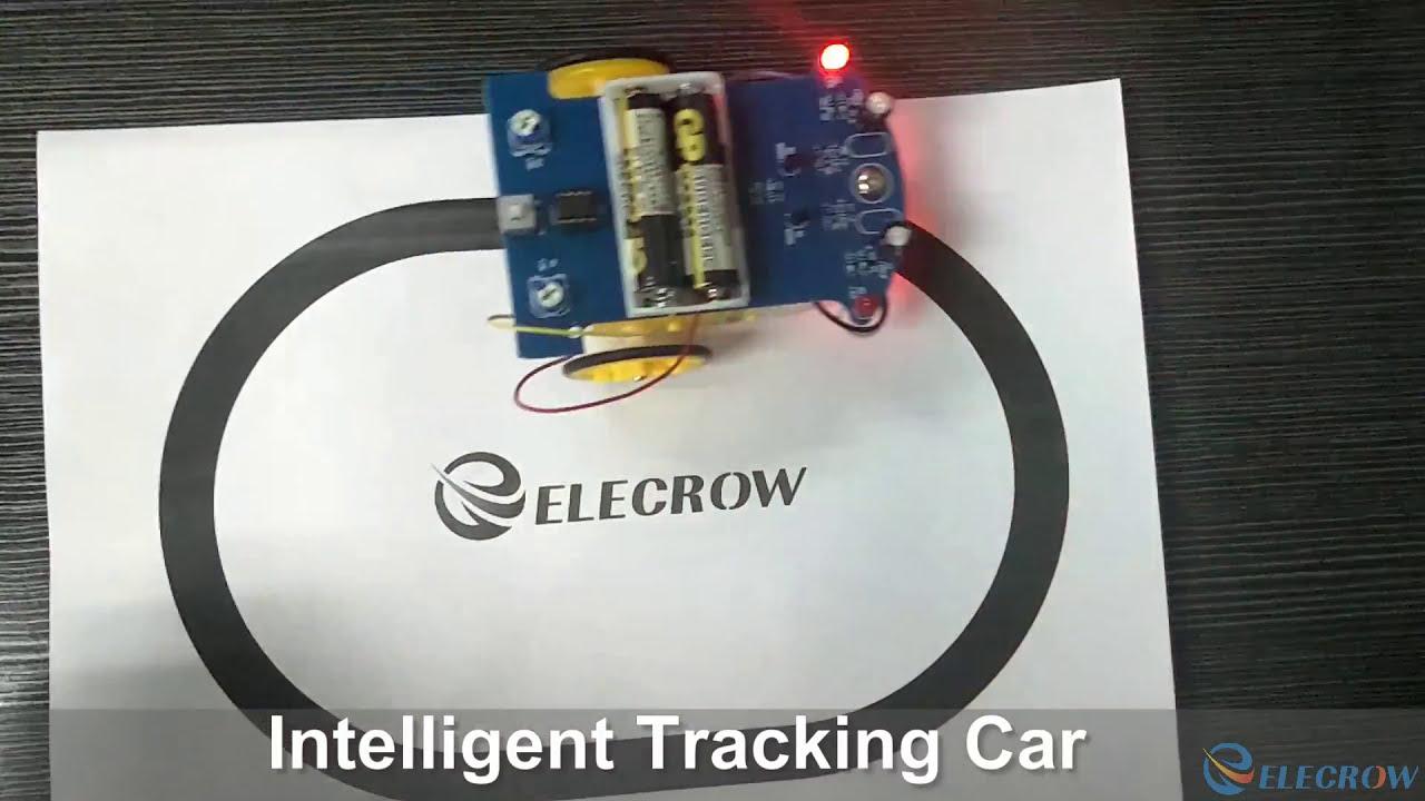 D2-5 Intelligent Tracking Line Car DIY Kit Suite TT Motor Electronic Component