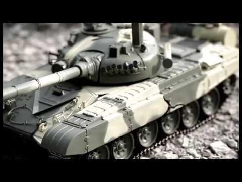 Обзор модели танка Т-72А фирмы