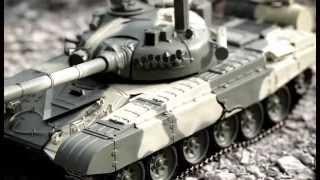Бій радіокерованого танка Т-72. Деагостини