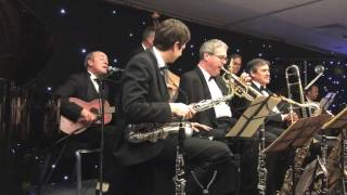 I'm Crazy 'Bout My Baby - Menno Daams & His Alex Hill Orchestra - Whitley Bay 2016