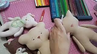 Pintura da gatinha com Lapis de Cor!! Mega 2019