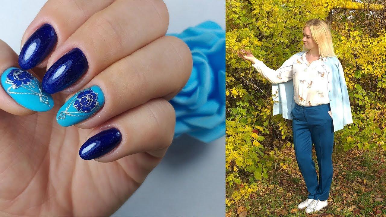 ❤ Дизайн под образ от СВЕТЛАНЫ ЗОТОВОЙ ❤ стильный МАНИКЮР 2018 ❤ Дизайн ногтей гель лаком ❤