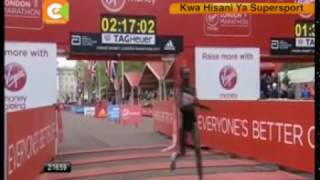Kenya yashinda marathon ya London