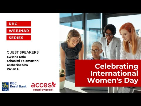RBC Royal Bank Webinar | Celebrating International Women's Day