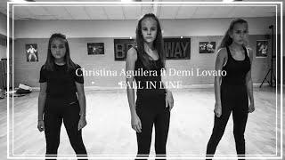 Christina Aguilera ft Demi Lovato - Fall in Line | Aurore Dsvd choreography