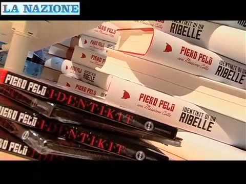 Piero Pelù alla Feltrinelli Red per presentare il suo libro