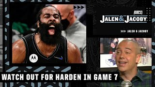 The Bucks should be worried about James Harden in Game 7 - David Jacoby | Jalen \u0026 Jacoby