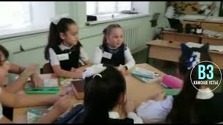 Учитель Кирельской школы Любовь Алексеева проводит урок по предмету