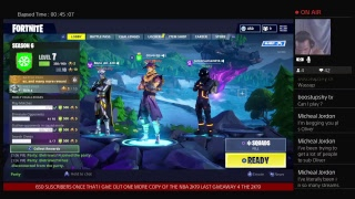 FORTNITE LIVE#MADDENESS GIVEAWAYS/AFTER 650 SUSCRIBERS/XBOX,PSN,NBA 2K19 FULL GAME DIGITAL COPY TPL$