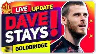 DE GEA STAYS! Solskjaer's CB Dilemma! Man Utd Transfer News