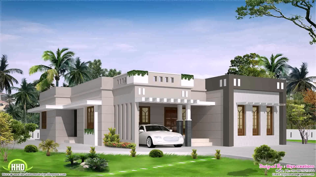 One Storey House Design Philippines With Floor Plan